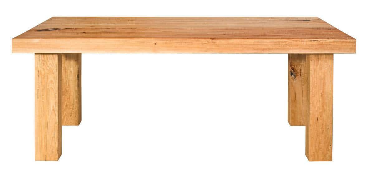 esstisch eiche massiv ge lt rustikal mit 6 cm starker. Black Bedroom Furniture Sets. Home Design Ideas