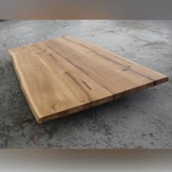 Tischplatte Eiche massiv geölt Wildeiche rustikal