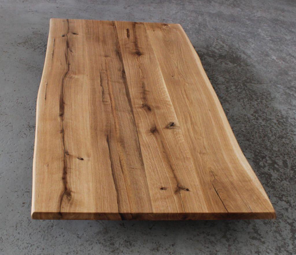 Waschtisch auf Holzplatte – die Maße entscheiden