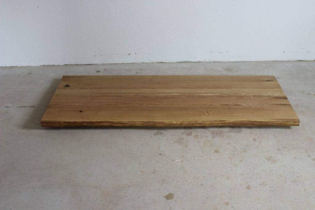 Massiv Rustikal Tischplatte