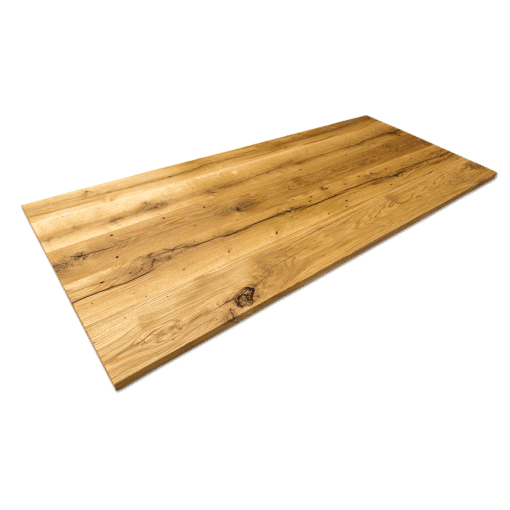 Altholz Tischplatte Eiche geölt massiv nach Maß