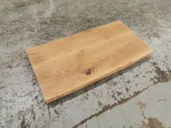 Waschtischplatte Massivholz Eiche Rustikal geölt mit Baumkante