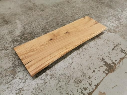 Waschtischplatte Eiche Baumkante Massivholz geölt