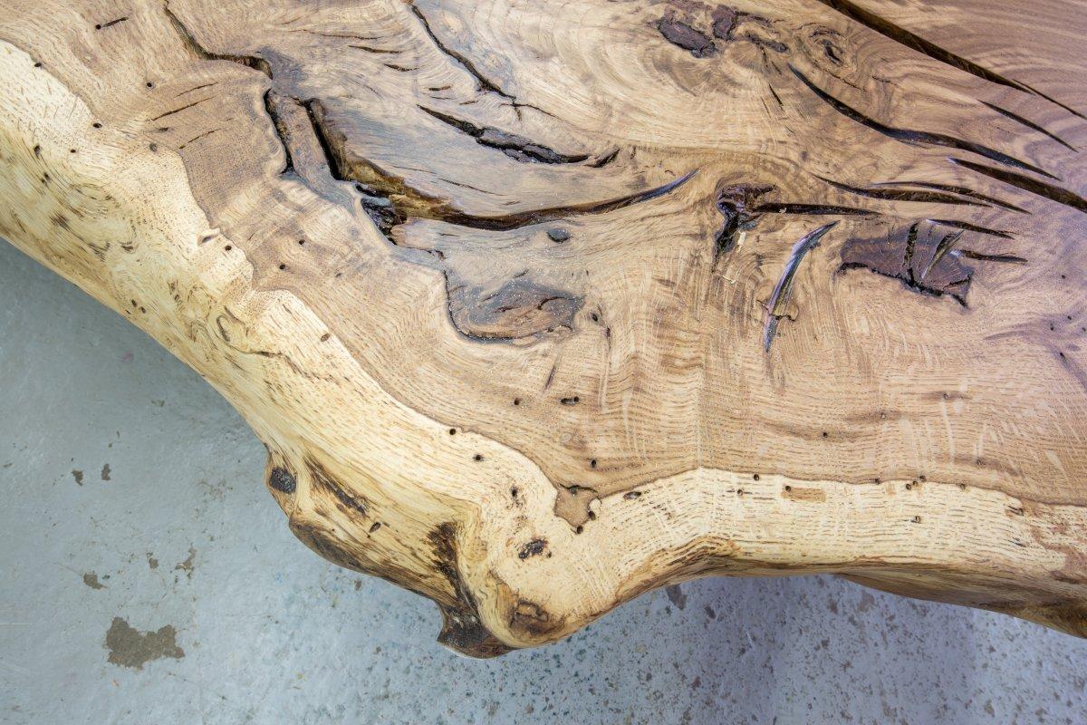 Baumscheiben Tischplatte