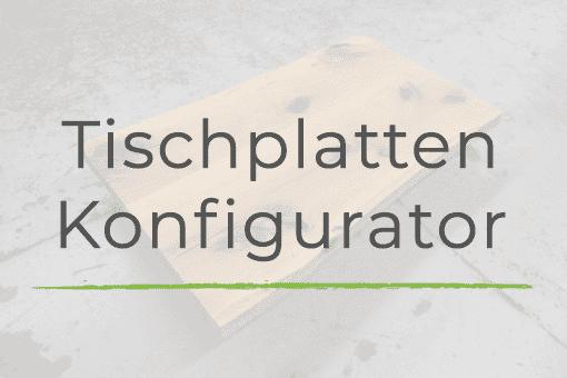 Tischplatte konfigurieren