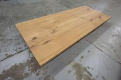 Tischplatte Eiche massiv Baumkante nach Maß online bestellen