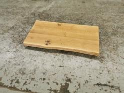 Waschtischplatte Eiche massivholz Baumkante geölt 100 cm