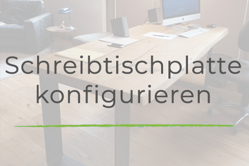 Schreibtischplatte individuell konfigurieren