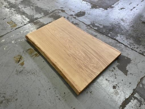 Baumscheibe Tischplatte Eiche massiv Baumkante