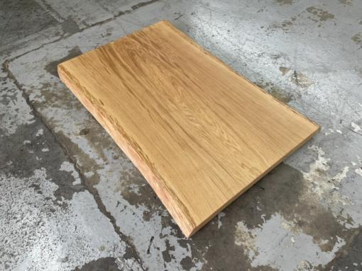 Baumstamm Couchtischplatte aus einem Stück Eiche massiv