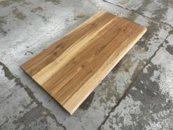 Schreibtischplatte Eiche massiv geölt mit Baumkante