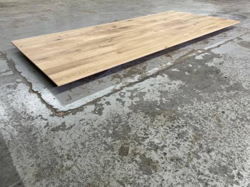 Tischplatte Eiche massiv geölt mit schweizer Kante