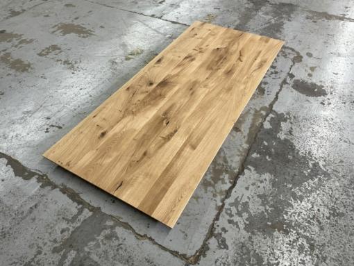 Tischplatte ildeiche mit schweizer Kante geölt