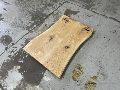 Tischplatte Wildeiche massiv rustikal